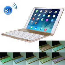 "Apple iPad Air 2, Pro 9.7"" Tasche Hülle Case QWERTY Bluetooth US Tastatur LED"