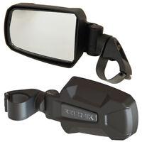 """GREEN STRIKE Seizmik Break-Away Side Mirrors 1.875/"""" 2/"""" Side by Side SxS Go Kart"""