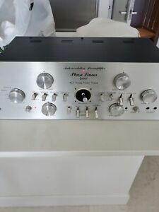 Phase Linear 4000 Preamplifier Working