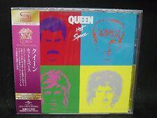 QUEEN Hot Space JAPAN SHM CD David Bowie Freddy Mercury Smile The Cross British