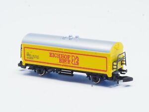 """8632 Marklin Z-scale Beer box car """"Eichof Bier"""" DB"""