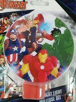 Avengers Led Night Light The Hulk, Iron Man, Captain America, Thor Rotary Shade