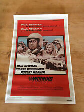 Cartel de Cine WINNING Vintage Movie Film Poster - Daytona - Paul Newman