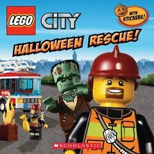 Lego City: Halloween Rescue! by Trey King (2013, Picture Book)