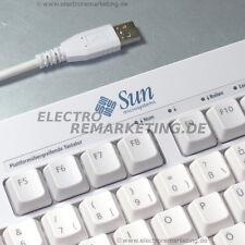 SUN Platformübergreifende Tastatur USB-HUB Deutsch QWERTZ für PC/Server unbenutz