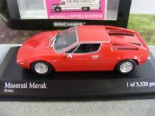 1/43 Minichamps Maserati Merak 1974 rosso