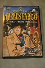Tales Of Well Fargo Complete Seasons One & Two - 52 Episodes Dale Robertson