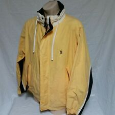 VTG Nautica Sailing Jacket Windbreaker Colorblock Coat 90s Spell Out Ski XXL 2XL