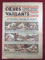 Tintin et Milou en Orient 1935 Coeurs Vaillants N 7 Hergé