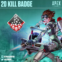 20 Kill Badge | Apex Legends Season 7 | Any Legend | PS4/PC