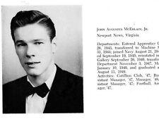 1949 Newport News Binnacle School Yearbook~Photos~History~Football~Shipping~++++