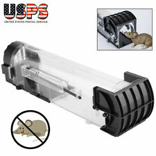 Rodent Animal Mouse Humane Live Trap Hamster Cage Rat Control Catch Bait Outdoor