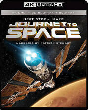 IMAX: Journey To Space (4K UHD / 3D Bluray) [Blu-ray] DVD, Patrick Stewart, Mark