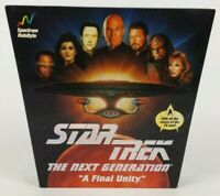 Star Trek The Next Generation A Final Unity PC CD Rom Video Game 1995