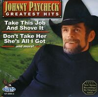 Johnny Paycheck - Greates Hits [New CD]