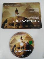 JUMPER DVD STEELBOOK + EXTRAS ENGLISH DEUTSCH - GERMAN EDITION
