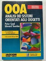 BOOK OOA ANALISI DEI SISTEMI ORIENTATI AGLI OGGETTI COAD YOURDON 8870569632