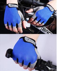 1 pair Outdoor Half Finger Cycling Bike Training Gym MTB Non-Slip Short Gloves