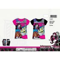 t shirt enfant Monster High 100% coton, Tee shirt fille, Monster High