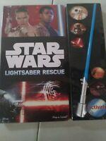 Star Wars The Force Awakens Lightsaber Adventure, Lightsaber Lights Up!
