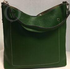 *Vintage*Dooney & Bourke*MX11*Medium Bucket*Bag*Green*Made in Italy*17087E S16
