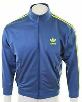 ADIDAS Mens Tracksuit Top Jacket Size 34/36 Small Blue Polyester  HQ09
