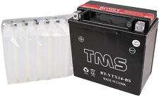 ATV Battery YTX14-BS for Honda FourTrax TRX Rubicon Foreman Rancher YFM660R ZX11