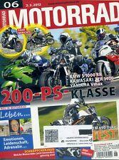 MOTORRAD Zeitschrift 06/2012