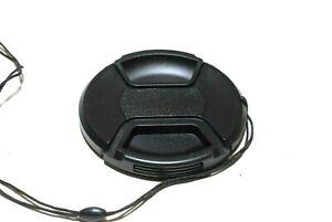 HAMA 72mm Snap-Cap Objektivdeckel mit Innengriff und Sicherungsband (sehr gut)