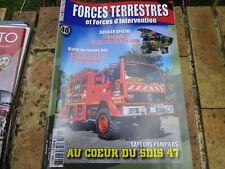 FORCES TERRESTRES 40 JANV / FEV 2016 magazine de l'armée Française comme neuf