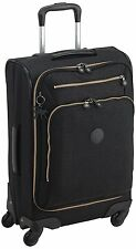 Kipling Youri Spin 55 Spinner Trolley**Black Drop**RRP £157**Cabin Luggage**
