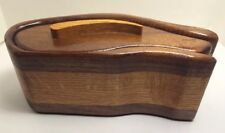 Hand Made Wooden Hide Away Container.