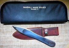 "Odd Randall Model 9-10 Knife & JRB Sheath -""Wandering 'S' """