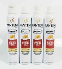 4 Pantene PRO-V In the Shower Foam Conditioner RADIANT COLOR SHINE 6 oz ~ New
