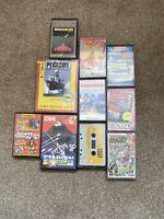 Commodore 64 / 128 - 10x Tape Game Bundle - Mixed Bundle - Joblot - Commodore(4)