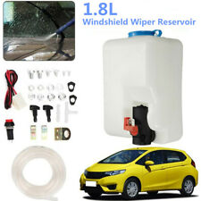 1.8L Car Windshield Washer Pump Washer Bottle Kit+ Pump Jet Button Switch 160186