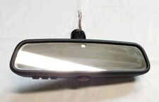 07-13 BMW 1 3 5 X AUTO DIMMING INTERIOR REAR VIEW MIRROR W/ HOMELINK 9151852 OEM