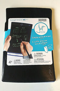 Boogie Board Jot with Protective Folio Cover and Stylus LCD Writer Writing NWT