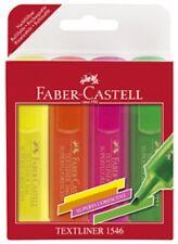Surligneurs Faber Castell Textliner 1546- étui de 4 pièces