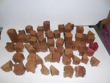 Wooden Interlocking Building Puzzle Blocks various sizes