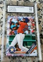 YORDAN ALVAREZ 2019 Bowman True Rookie Card RC GEM MINT 10 Houston Astros Cuba $