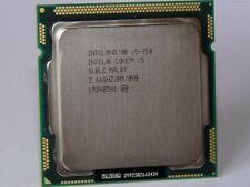 Intel Core i5-750 2.66GHz Quad-Core Processor Socket LGA1156 SLBLC CPU 8MB