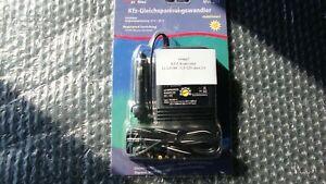 KFZ Auto-Gleichspannungswandler 12-24VDC zu 1,5-12VDC 5x Hohlstecker 1x Klinke