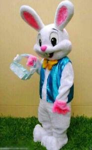 Halloween Easter Mascot Costume Rabbit Cartoon Animal Fancy Dress Suit Adults UK