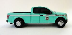 2015 FORD F-150 LAW ENFORCEMENT DIECAST SCALE 1/64 FOREST SERVICE NEW