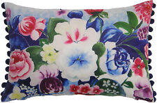 Velvet Floral Decorative Cushions