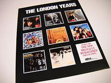 Rolling Stones Promo Poster Ad The London Years 9 album covers