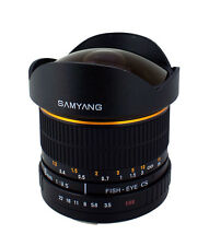 Samyang 8mm F/3.5 Fisheye Lens for Nikon D7000 D5100 D3100 D3000 with Auto Chip