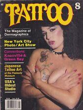 1987 #8 TATTOO magazine
