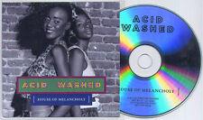 ACID WASHED House Of Melancholy 2013 French 10-track promo CD